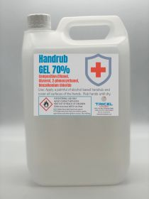 5 Litre Hand Sanitiser Gel (W.H.O formulated | 70% Alcohol)