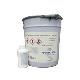 Fire Retardant Roofing Topcoat & Catalyst